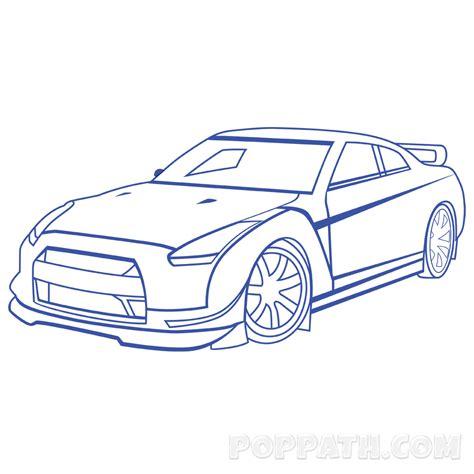 draw  race car pop path
