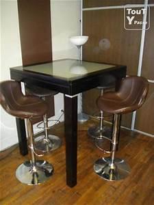 Mange Debout Extensible : table bar mange debout design extensible 4 tabourets paris 10 entrep t 75010 ~ Teatrodelosmanantiales.com Idées de Décoration