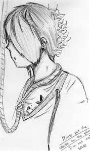 Emo Anime Suicide Drawings