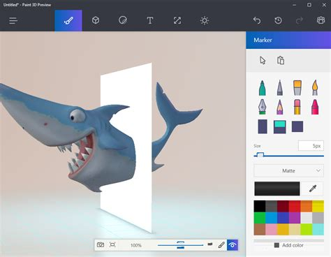 3d Paint : A Paint 3d Preview Is Already Available For Windows