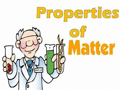 Matter Properties Clipart Science Poster Clip Changes