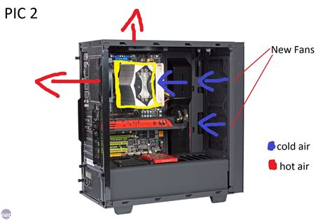 nzxt s340 case fans fan setup in nzxt source s340 with big heat sink air