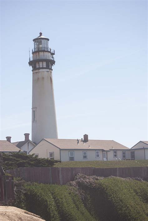 California Traveler Pigeon Point Lighthouse Stands Tall