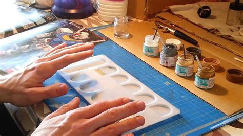 peinture pour aerographe la mise en peinture 224 l a 233 rographe partie 4 le m 233 lange des teintes tuto