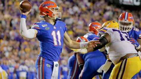 Early Monday odds for Florida's home football game vs LSU ...