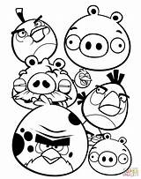 Angry Birds Pages Colouring Printable Coloring sketch template