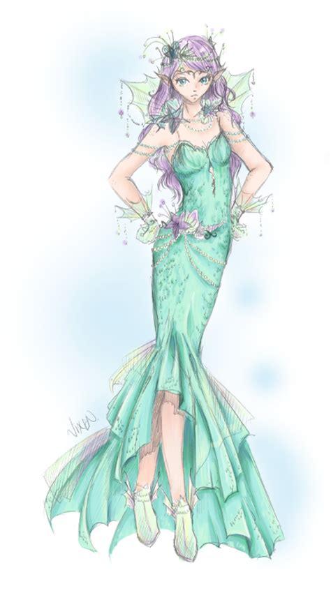 mermaid couture  flurryfox  deviantart