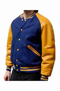 Blue And Yellow Varsity Jacket Movies Jacket