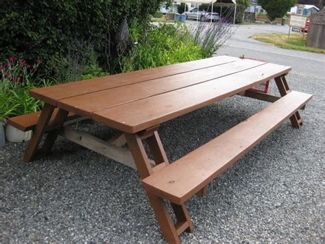 extra tall table ls extra large picnic table sooke victoria