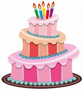 Pink Birthday Cake PNG Clipart   Clip Art - (Birthday ...
