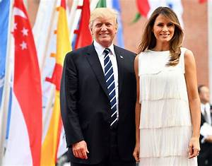 Melania Trump attends the G20 summit in Hamburg – in ...