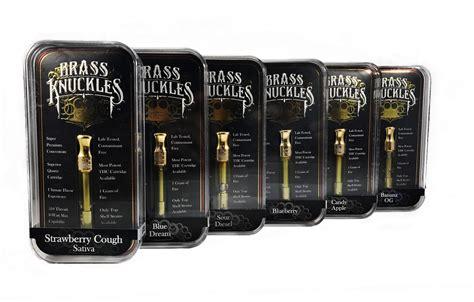 Brass Knuckles Clear High Thc Vape Cartridges (1 Gram