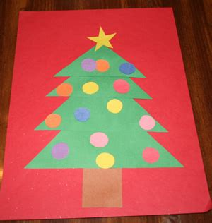 christmas tree crafts for preschool crafts for all network