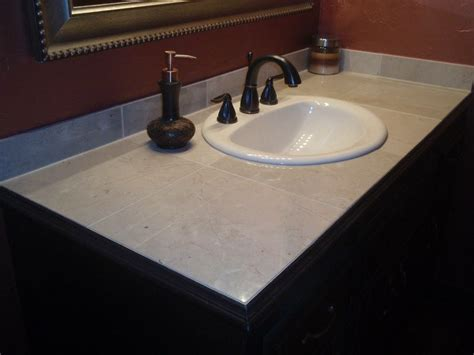 Bathroom Vanity Countertops Ideas by Custom Tile Vanity Top Fresh Ideas Home Improvement Re