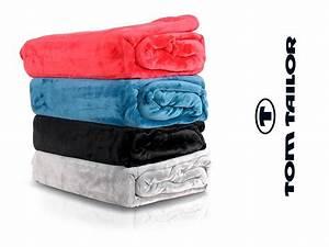 Tom Tailor Decke : tom tailor wohndecke plaid tagesdecke top marke kuscheldecke fleece decke grau ebay ~ Watch28wear.com Haus und Dekorationen