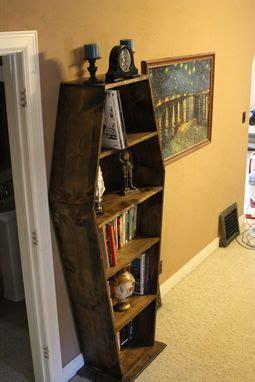 buy custom  coffin bookcase   order  wartooth workbooth custommadecom