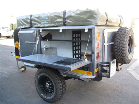 offroad trailer metalian maxi 4x4 off road cing trailers metalian