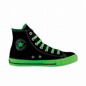 Converse Converse All Star Hi Sneaker Black Green Neon