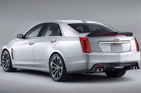 2019 Cadillac Ctsv View Design, Engine, Specs & Price