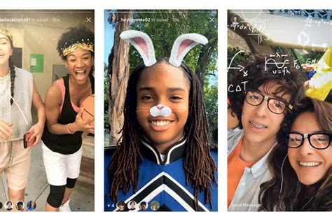 instagram adds augmented reality face filters  verge