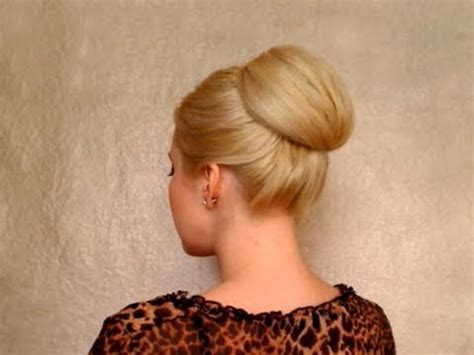 bun hairstyles for long hair tutorial easy prom updo