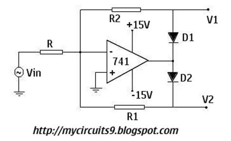 precision  wave  full wave rectifiers