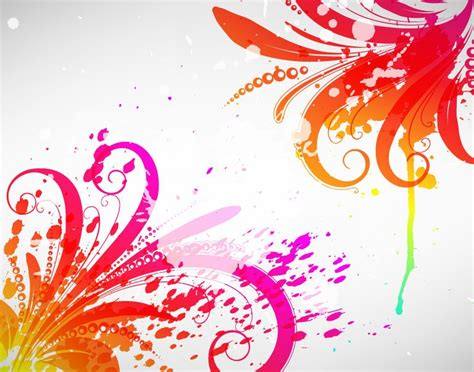 free graphic design free abstract colored design vector graphic free vector