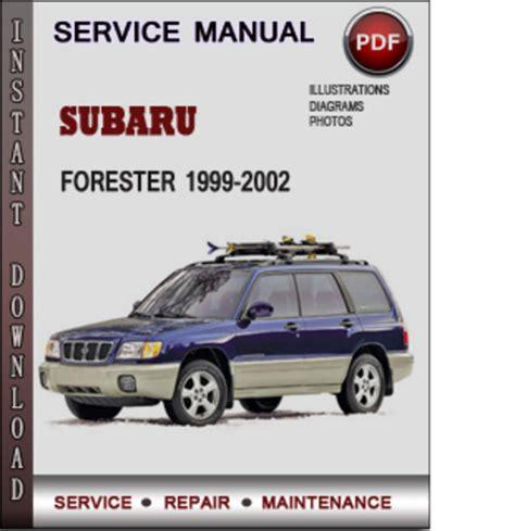 service manuals schematics 1999 subaru forester user handbook subaru forester 1999 2002 factory service repair manual download pd