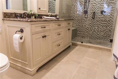 Bathroom Vanity Tops Rochester Ny by Earth Tone Bathroom Remodel In Rochester Ny
