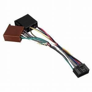 Chivanoor 16pin Iso Car Stereo Audio Wiring Harness