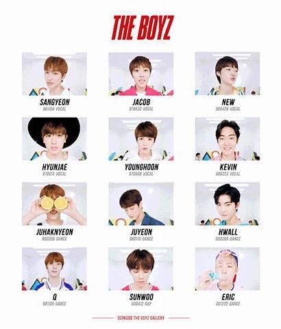Boyz Members Boys Meet Pop