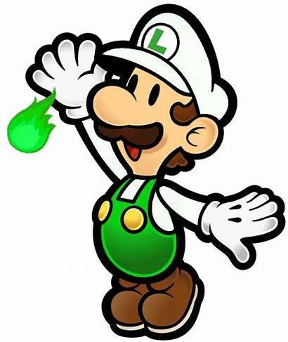 Luigi Mario Paper Fire Bros Fantendo Wikia