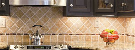 Slate Backsplash Ideas For The Kitchen : Tumbled Stone Backsplash Tile Ideas