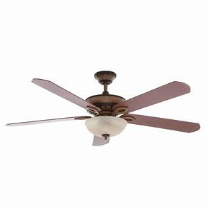 Hampton bay asbury in led gilded espresso ceiling fan with light kit and wall control