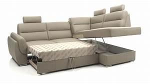 Canapé D Angle Contemporain : canap d 39 angle convertible cuir chambord canap design salon canap haut de gamme ~ Teatrodelosmanantiales.com Idées de Décoration