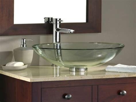 sink american standard bathroom glass vessel bowl sink