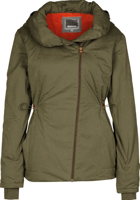 Bench Winter Jackets For by Bench To The Point W Winter Jacket Olive
