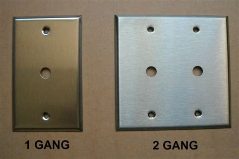 Tv Plate Tv Cable Stainless Steel Wall Cover Plate 1 2 Ebay