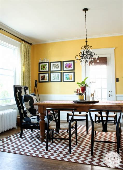 yellow paint color for dining room yellow dining room colors