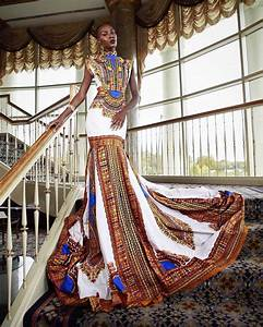african print ball gown 8020fashions blog With african print wedding dresses