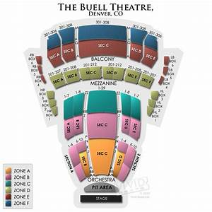 Bellco Theater Seating Chart Buell Theatre Seating A Guide For Live Shows At The