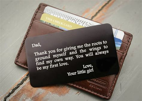 Custom Engraved Wallet Insert Card By Engravemethis Business Plan Implementation Harvard Lesson Cards Quick And Cheap Vs Project Scanner Plans For Startups Model