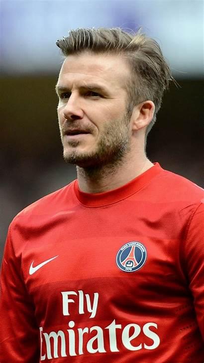 Beckham David Wallpapers Soccer Mobile Player Phone