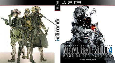 Metal Gear Solid 4 Custom Cover By Shonasof On Deviantart