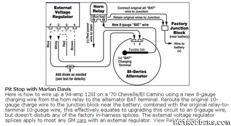 Chevy External Voltage Regulator Wiring Diagram by Voltage Reg Upgrade Covered Topic