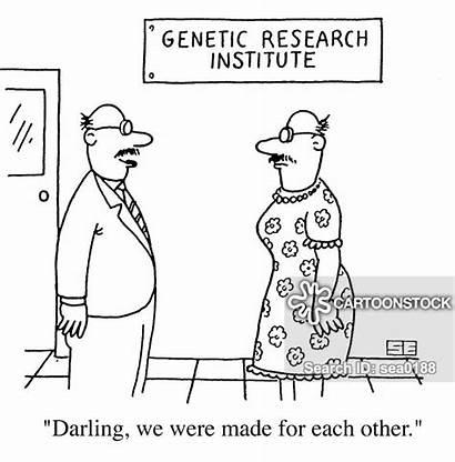 Genetic Science Cartoons Scientists Cartoon Comics Funny