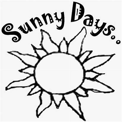 Coloring Sun Pages Drawing Summer Printable Simple
