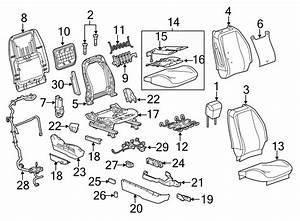 Chevrolet Silverado 3500 Power Seat Wiring Harness  W  8