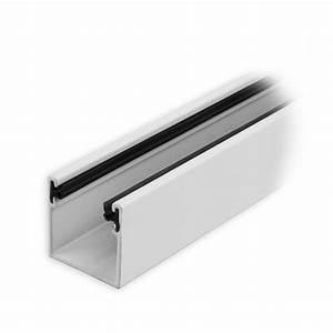 Rolladen Führungsschienen Kunststoff : maxi aluminium f hrungsschiene 28 x 28 x 28 mm mit neopren einlage wei lackiert diwaro ~ Orissabook.com Haus und Dekorationen