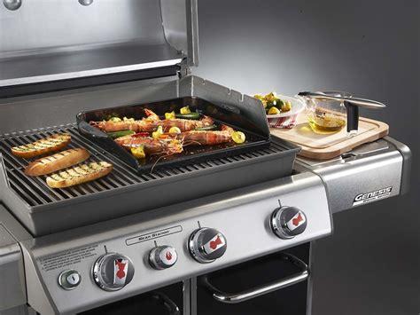 de lave pour barbecue gaz plancha deluxe pour barbecue weber q300 spirit 300 et genesis